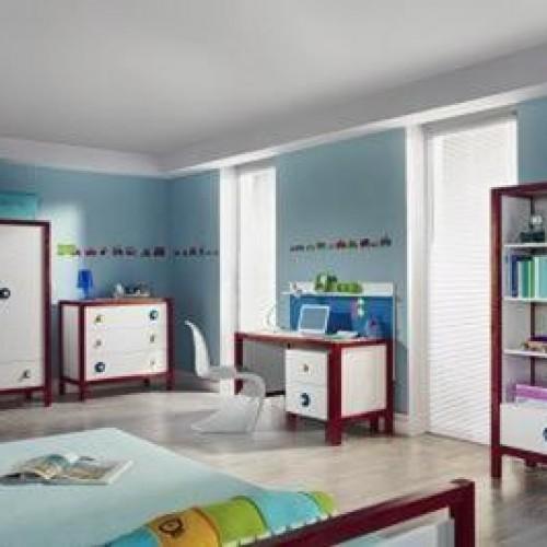 Designerski pokój dla nastolatka według Pinio