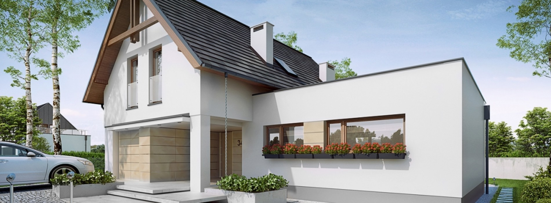 Wyjątkowe projekty nowoczesnych domów
