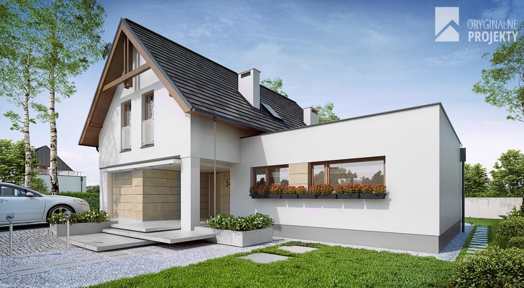 wyj tkowe projekty nowoczesnych dom w gazetabudowa. Black Bedroom Furniture Sets. Home Design Ideas