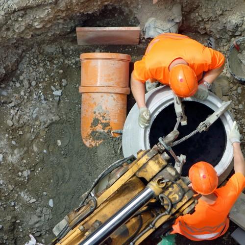 Drożna kanalizacja-  gwarancją nie zanieczyszczonej wody i gleby