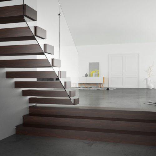 Jak dobrać schody do rodzaju oraz koloru podłogi